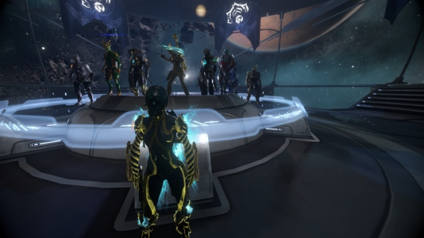 Warframe Gameplay (feat.Giant Bomb Clan)